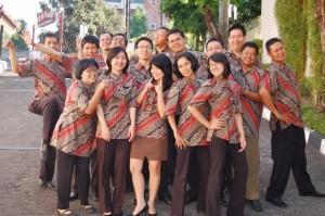 Batik Kerja Kantor | Jasa Printing Batik & Tekstil